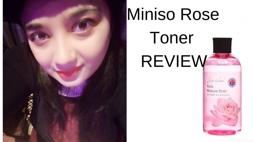 Miniso Rose Toner REVIEW